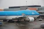 JA8037さんが、アムステルダム・スキポール国際空港で撮影したKLMオランダ航空 747-406の航空フォト(写真)