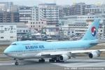 tabi0329さんが、福岡空港で撮影した大韓航空 747-4B5の航空フォト(写真)