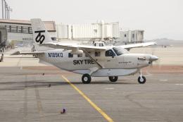 ピーチさんが、岡山空港で撮影したクエスト・エアクラフト・カンパニー Kodiak 100の航空フォト(写真)