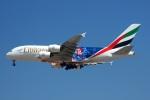 KAZKAZさんが、ドバイ国際空港で撮影したエミレーツ航空 A380-861の航空フォト(写真)
