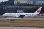 ぼんやりしまちゃんさんが、福岡空港で撮影した日本航空 767-346/ERの航空フォト(写真)