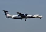 じーく。さんが、成田国際空港で撮影したオーロラ DHC-8-402Q Dash 8の航空フォト(写真)