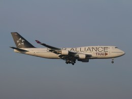 linkinparkさんが、成田国際空港で撮影したタイ国際航空 747-4D7の航空フォト(写真)