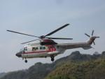kamonhasiさんが、静岡ヘリポートで撮影した朝日航洋 AS332L Super Pumaの航空フォト(写真)