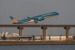 多摩川崎2Kさんが、羽田空港で撮影したベトナム航空 A350-941XWBの航空フォト(写真)