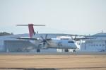 東亜国内航空さんが、鹿児島空港で撮影した日本エアコミューター DHC-8-402Q Dash 8の航空フォト(写真)