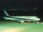 プルシアンブルーさんが、山形空港で撮影したエアーニッポン A320-211の航空フォト(写真)