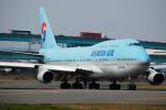 ryo1007さんが、福岡空港で撮影した大韓航空 747-4B5の航空フォト(写真)