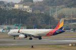 accheyさんが、福岡空港で撮影したアシアナ航空 A321-231の航空フォト(写真)
