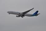 うすさんが、関西国際空港で撮影したガルーダ・インドネシア航空 A330-343Xの航空フォト(写真)