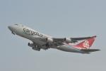 ATCITMさんが、関西国際空港で撮影したカーゴルクス 747-4R7F/SCDの航空フォト(写真)