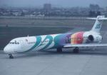 プルシアンブルーさんが、山形空港で撮影した日本エアシステム MD-90-30の航空フォト(写真)