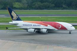 Tomo-Papaさんが、シンガポール・チャンギ国際空港で撮影したシンガポール航空 A380-841の航空フォト(写真)