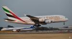 kamerajiijiさんが、成田国際空港で撮影したエミレーツ航空 A380-861の航空フォト(写真)