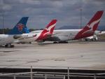 ken1☆MYJさんが、メルボルン空港で撮影したカンタス航空 A380-842の航空フォト(写真)