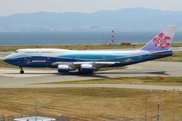 つみネコ♯2さんが、関西国際空港で撮影したチャイナエアライン 747-409の航空フォト(写真)