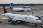 ハピネスさんが、成田国際空港で撮影したデルタ航空 767-332/ERの航空フォト(写真)