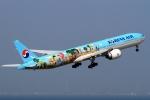 ウッディーさんが、中部国際空港で撮影した大韓航空 777-3B5/ERの航空フォト(写真)