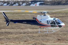 西風さんが、大館能代空港で撮影したノエビア AS350B3 Ecureuilの航空フォト(写真)
