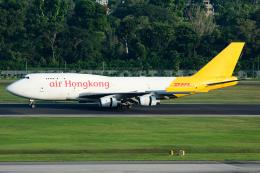 Tomo-Papaさんが、シンガポール・チャンギ国際空港で撮影したエアー・ホンコン 747-467(BCF)の航空フォト(写真)