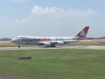 twinengineさんが、シンガポール・チャンギ国際空港で撮影したカーゴルクス 747-8R7F/SCDの航空フォト(写真)