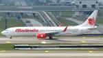 誘喜さんが、クアラルンプール国際空港で撮影したマリンド・エア 737-9GP/ERの航空フォト(写真)