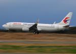 タミーさんが、静岡空港で撮影した中国東方航空 737-89Pの航空フォト(写真)