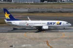 JA8961RJOOさんが、福岡空港で撮影したスカイマーク 737-8FHの航空フォト(写真)