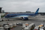 職業旅人さんが、ジョン・F・ケネディ国際空港で撮影したアゼルバイジャン航空 787-8 Dreamlinerの航空フォト(写真)