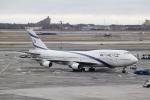 職業旅人さんが、ジョン・F・ケネディ国際空港で撮影したエル・アル航空 747-458の航空フォト(写真)