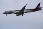 おnさんが、名古屋飛行場で撮影した三菱航空機 MRJ90STDの航空フォト(写真)