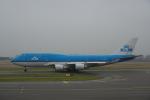 JA8037さんが、アムステルダム・スキポール国際空港で撮影したKLMオランダ航空 747-406Mの航空フォト(写真)