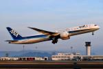 turenoアカクロさんが、高松空港で撮影した全日空 787-9の航空フォト(写真)