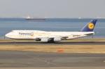 SIさんが、羽田空港で撮影したルフトハンザドイツ航空 747-830の航空フォト(写真)