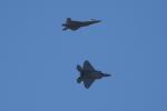 徳兵衛さんが、ホノルル国際空港で撮影したロッキード・マーティン F-22A Raptorの航空フォト(写真)