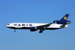 にしやんさんが、成田国際空港で撮影したヴァリグ MD-11の航空フォト(写真)