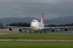 tsubameさんが、福岡空港で撮影した日本航空 747-221F/SCDの航空フォト(写真)