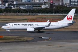 JA8961RJOOさんが、福岡空港で撮影した日本トランスオーシャン航空 737-8Q3の航空フォト(写真)