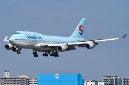 JA8961RJOOさんが、福岡空港で撮影した大韓航空 747-4B5の航空フォト(写真)