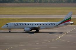 kansai-spotterさんが、ウィーン国際空港で撮影したブルガリア航空 ERJ-190-100 IGW (ERJ-190AR)の航空フォト(写真)