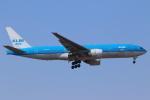 せぷてんばーさんが、成田国際空港で撮影したKLMオランダ航空 777-206/ERの航空フォト(写真)