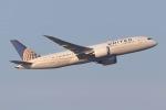 じゃがさんが、成田国際空港で撮影したユナイテッド航空 787-822の航空フォト(写真)