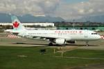 Spot KEIHINさんが、バンクーバー国際空港で撮影したエア・カナダ ジェッツ A320-211の航空フォト(写真)