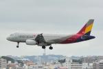 shining star ✈さんが、那覇空港で撮影したアシアナ航空 A320-232の航空フォト(写真)