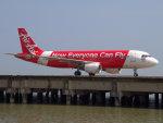 Mame @ TYOさんが、マカオ国際空港で撮影したタイ・エアアジア A320-216の航空フォト(写真)