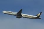 多楽さんが、成田国際空港で撮影したシンガポール航空 777-312/ERの航空フォト(写真)