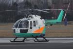 トリトンブルーSHIROさんが、新潟空港で撮影した東北エアサービス Bo 105CBS-4の航空フォト(写真)