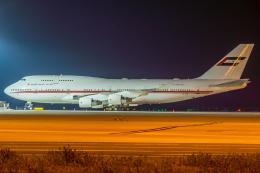 Mar Changさんが、中部国際空港で撮影したドバイ・ロイヤル・エア・ウィング 747-422の航空フォト(写真)