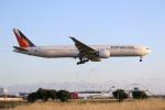 LAX Spotterさんが、ロサンゼルス国際空港で撮影したフィリピン航空 777-36N/ERの航空フォト(写真)