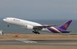 SIさんが、中部国際空港で撮影したタイ国際航空 777-2D7の航空フォト(写真)